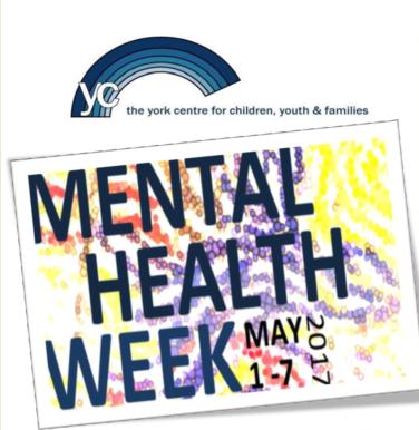 Mental Health Week May 1-7, 2017