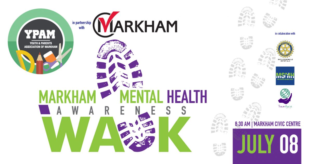 Youth and Parents Association of Markham – Mental Health Awareness Walk