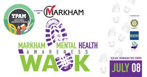 Youth and Parents Association of Markham - Mental Health Awareness Walk @ Markham Civic Centre