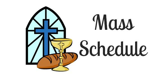 Change of Venue for Weekend Mass
